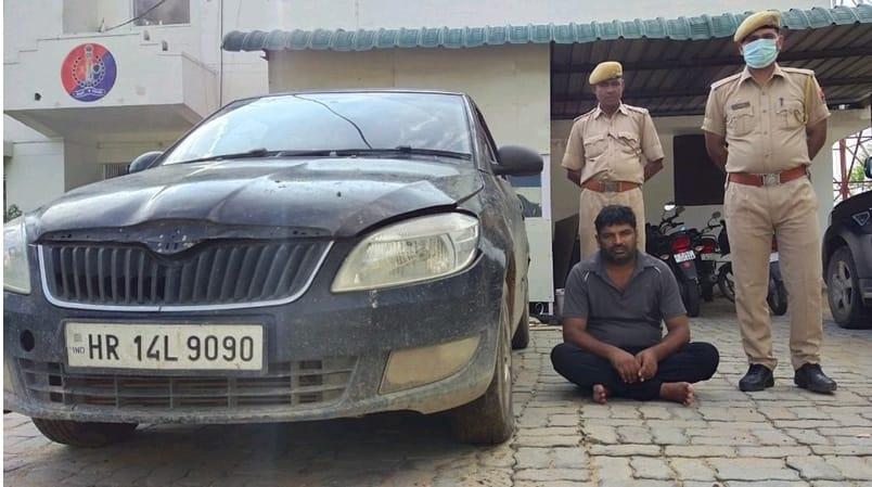 राजस्थान/सूर्या गैंग का शातिर बदमाश गिरफ्तार, धारदार छुर्रा बरामद