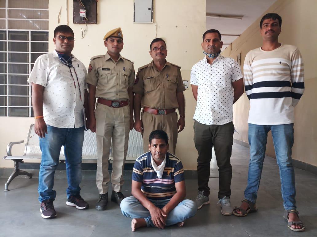 राजस्थान/बगरू इलाके में फैक्टरी पर छापा, मालिक गिरफ्तार