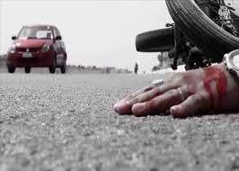 राजस्थान/अज्ञात वाहन की टक्कर से बाइक सवार की मौत