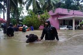 कर्नाटक:भारी बारिश से कई हिस्सों में तबाही, उडुपी जिला सबसे ज्यादा प्रभावित