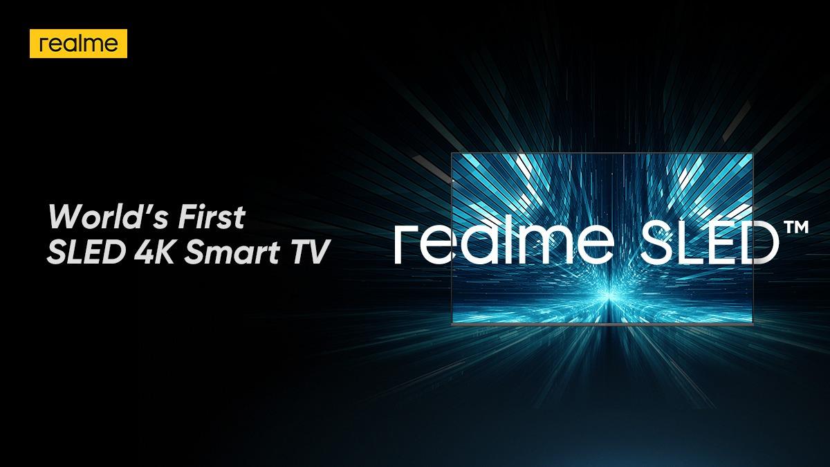 इस खास टेक्नोलॉजी के साथ रियलमी ला रही है दुनिया की पहली टीवी